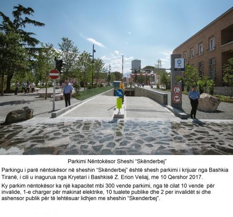 Parkimi Nentokesor Sheshi Skenderbej
